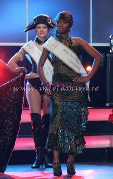 Congo- Bijoux Nyota at Miss Intercontinental in Poland (WBO 37 edition)