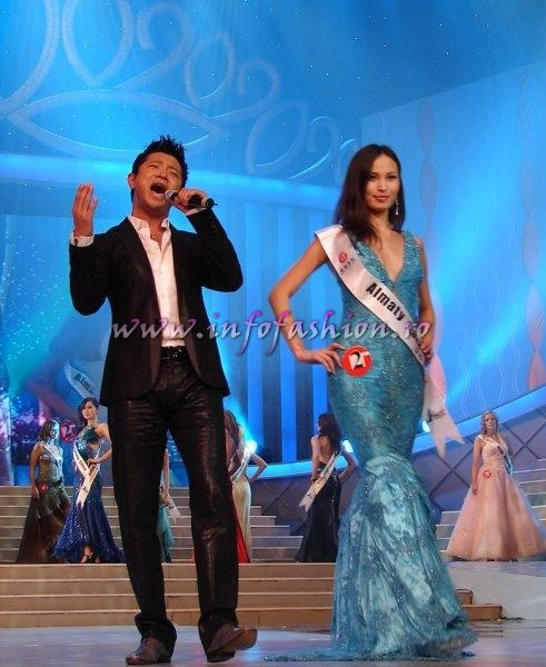 Kazakhstan_2008 Almaty, Makpal Tleubaeva at Miss Global Beauty Queen Photo Henrique Fontes, Globalbeauties.com