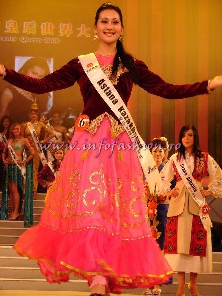 Kazakhstan_2008 Astana, Aisulu Ismailova at Miss Global Beauty Queen Photo Henrique Fontes, Globalbeauties.com