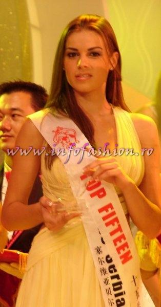 Serbia_2008 Belgrad, Dragana Atlija at Miss Global Beauty Queen Photo Henrique Fontes, Globalbeauties.com