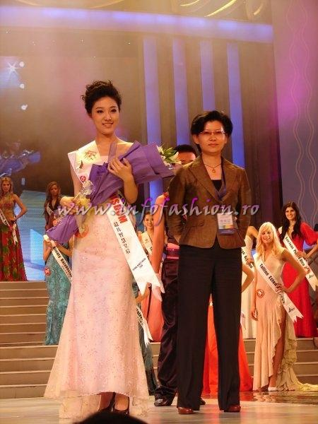 China_2008 ChangChun, Wang He at Miss Global Beauty Queen Photo Henrique Fontes, Globalbeauties.com