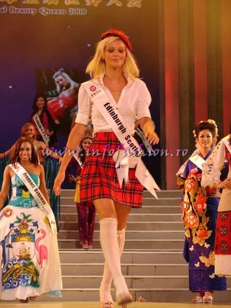 Scotland_2008 Edinburgh, Kimberley Marren at Miss Global Beauty Queen Photo Henrique Fontes, Globalbeauties.com