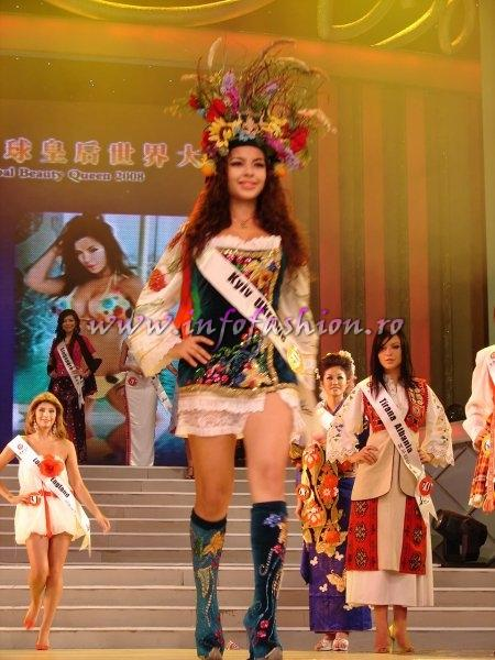 Ukraine_2008 Kiev, Alona Sarana at Miss Global Beauty Queen Photo Henrique Fontes, Globalbeauties.com