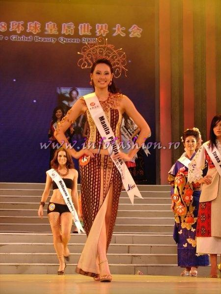 Philippines_2008 Manila, Leslie Ann Dawn at Miss Global Beauty Queen Photo Henrique Fontes, Globalbeauties.com