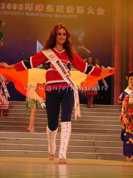 Canada_2008 Montreal, Pauline Ranjbar at Miss Global Beauty Queen Photo Henrique Fontes, Globalbeauties.com