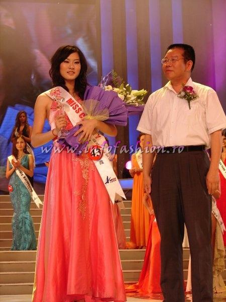 China_2008 NingBo, Dai Jing at Miss Global Beauty Queen Photo Henrique Fontes, Globalbeauties.com
