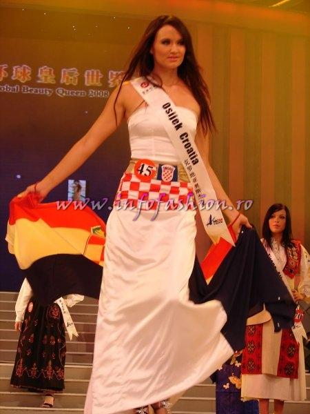 Croatia_2008 Osijek, Tajana Marosi at Miss Global Beauty Queen Photo Henrique Fontes, Globalbeauties.com