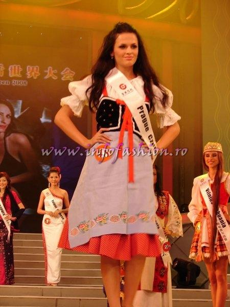 Czech_Rep_2008 Prague, Beata Bockova at Miss Global Beauty Queen Photo Henrique Fontes, Globalbeauties.com