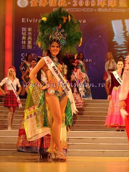 Brazil_2008 Rio De Janerio, Nayara Lima da Silva at Miss Global Beauty Queen Photo Henrique Fontes, Globalbeauties.com
