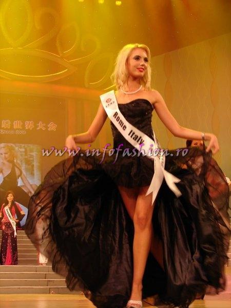 Italy_2008 Rome, Olimpia Guareschi at Miss Global Beauty Queen Photo Henrique Fontes, Globalbeauties.com
