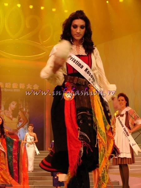 Kosovo_2008 Pristina, Florinde Marashi at Miss Global Beauty Queen Photo Henrique Fontes, Globalbeauties.com