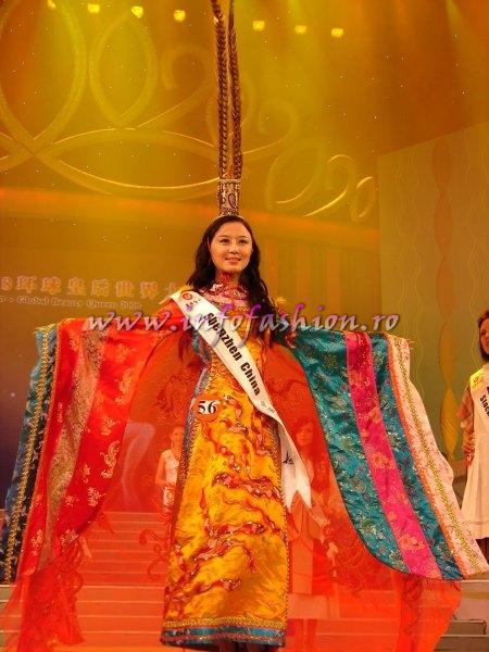 China_2008 ShenZhen, Chen Xiaofei at Miss Global Beauty Queen Photo Henrique Fontes, Globalbeauties.com