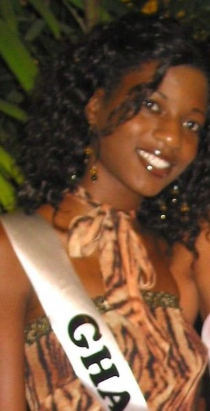 Ghana- Patricia Dapah Akuamoah at Miss Intercontinental 2006 Bahamas