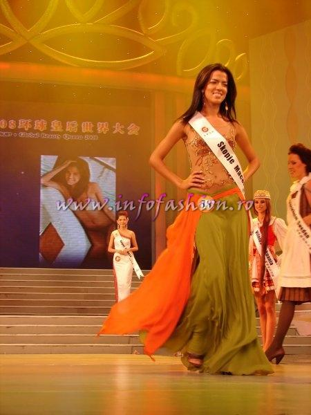 Macedonia_FYRO_2008 Skopje, Ivana Veljanoska at Miss Global Beauty Queen Photo Globalbeauties.com