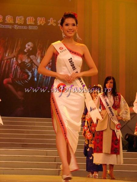Taiwan_ROC_2008 Taipei, Wang Hsuan-Chi at Miss Global Beauty Queen Photo Henrique Fontes, Globalbeauties.com