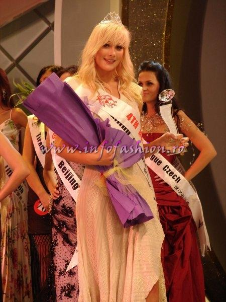 Estonia_2008 Tallinn, Gerta Poldver, 4th Runner Up at Miss Global Beauty Queen Photo Henrique Fontes, Globalbeauties.com