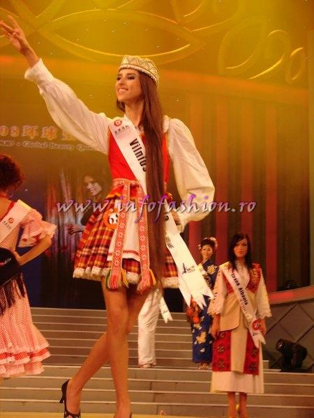 Lithuania_2008 Vilnius, Monika Baliunaite at Miss Global Beauty Queen Photo Henrique Fontes, Globalbeauties.com