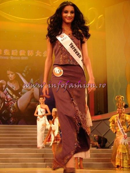 Armenia_2008 Yerevan, Marine Avetyan at Miss Global Beauty Queen 2008 Photo Henrique Fontes, Globalbeauties.com