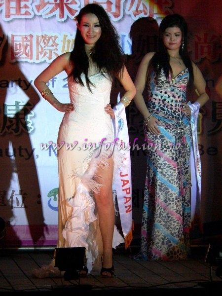 Japan Miou Fujinaga at Final Miss Young International in Taiwan OCT. 2007