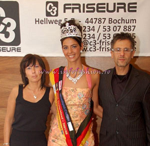 Turkay Yegenoglu, Top Stylist Germany, C3 Friseure- of Top Model of the World 2007, Miss & Mister Deutschland 2008, Misses NRW 2008- C3 Friseure Team