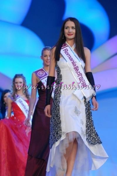Delia_Duca 2008 Romania in TOP 20 of 113 Miss Tourism Queen International in China /Infofashion Platinum Ag Romania