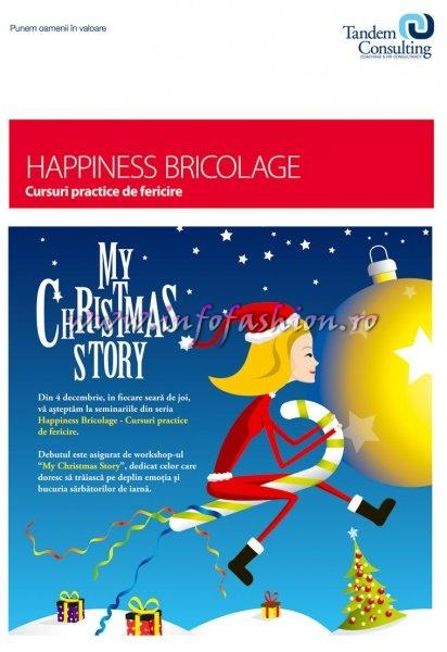 04 dec 2008 HAPPINESS BRICOLAGE My Christmas Story OPEN