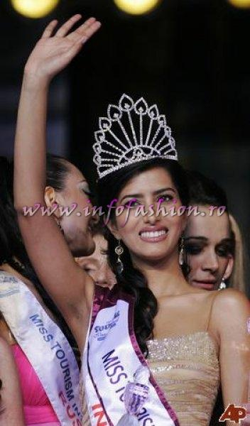 India Manasvi Mamgai Winner Miss Tourism International 2008 in Malaysia