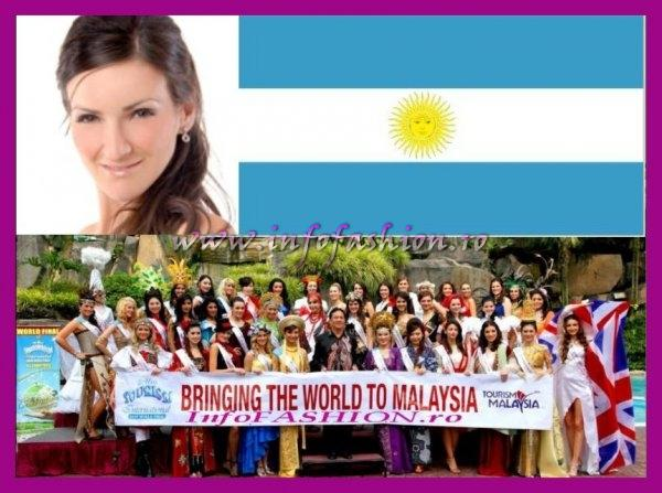 Argentina- Lis Maricel Rodriguez at Miss Tourism International Malaysia