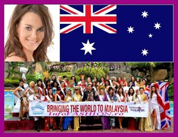 Australia- Caitlin Caesar at Miss Tourism International Malaysia