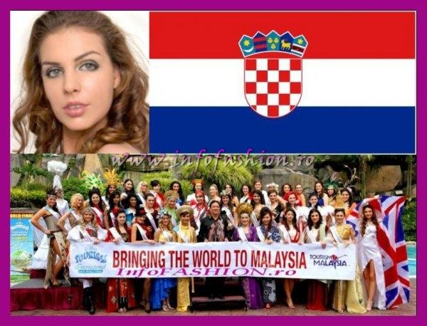 Croatia- Ava Karabatic at Miss Tourism International Malaysia