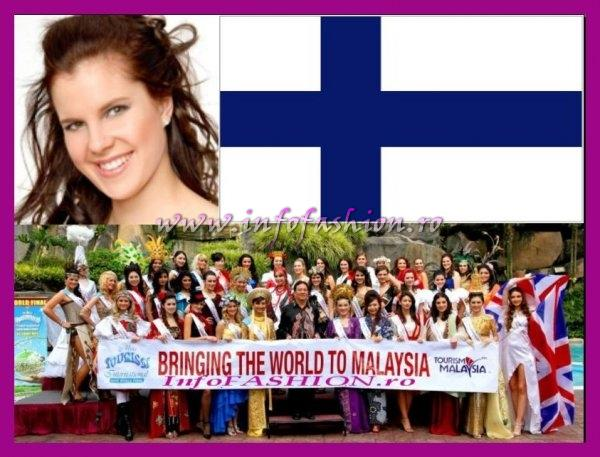Finland- Ida Johanna Stepanow at Miss Tourism International Malaysia