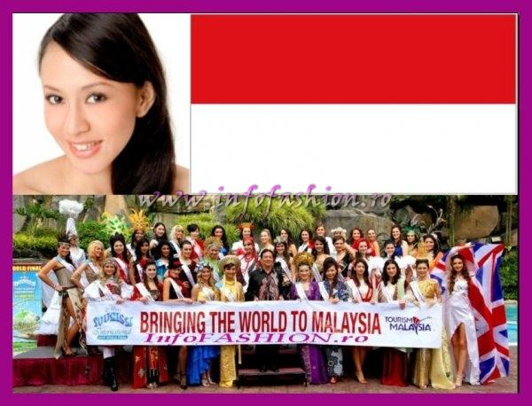 Indonesia_2008 Albertina Fransisca Mailoa, Miss Photogenic and Miss Youthful at Miss Tourism International Malaysia