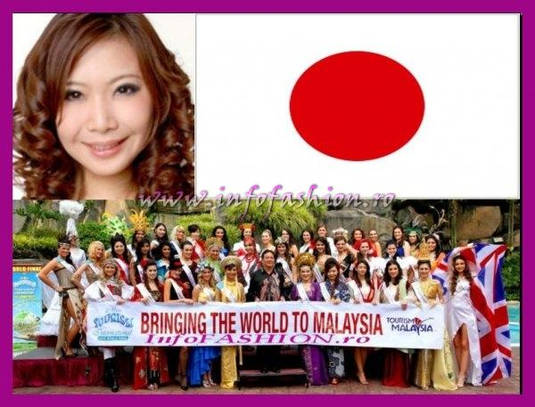 Japan- Nahoko Nakanishi at Miss Tourism International Malaysia