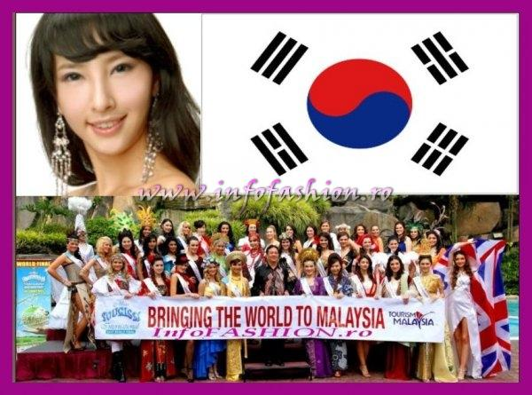 Korea Shin Sun-a, Best in National Costume at Miss Tourism International Malaysia