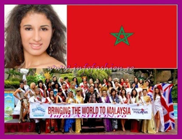 Morocco- Kenza Tlemsani Maghraoui at Miss Tourism International Malaysia