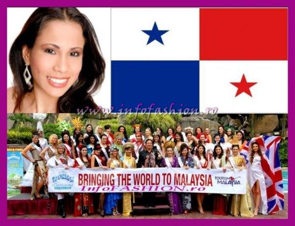 Panama- Annika Madelaine Forero Fuentes at Miss Tourism International Malaysia