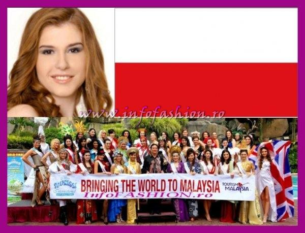 Poland- Weronika Bronowicka at Miss Tourism International Malaysia