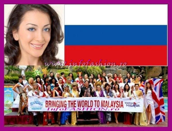 Russia- Nubaryan Mari Aksel at Miss Tourism International Malaysia