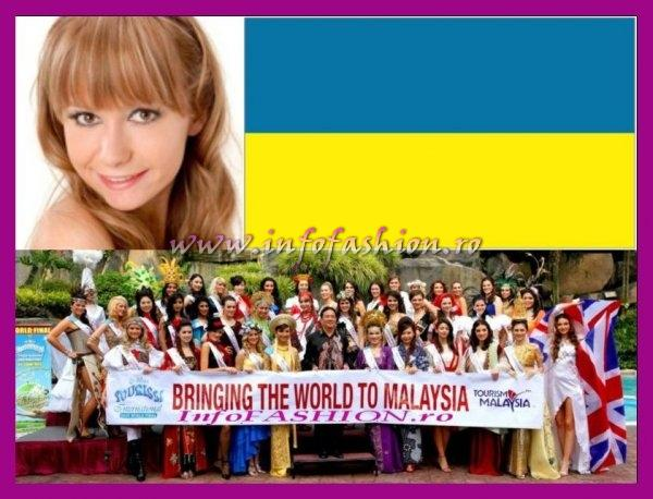 Ukraine- Valeriya Nykyforets at Miss Tourism International Malaysia