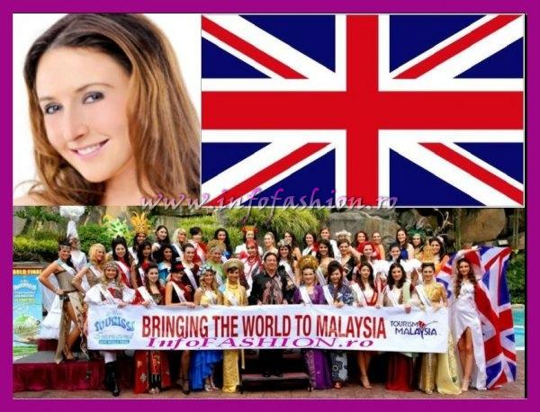 United Kingdom- Janine Allen Robertson, Miss Fitness at Miss Tourism International Malaysia