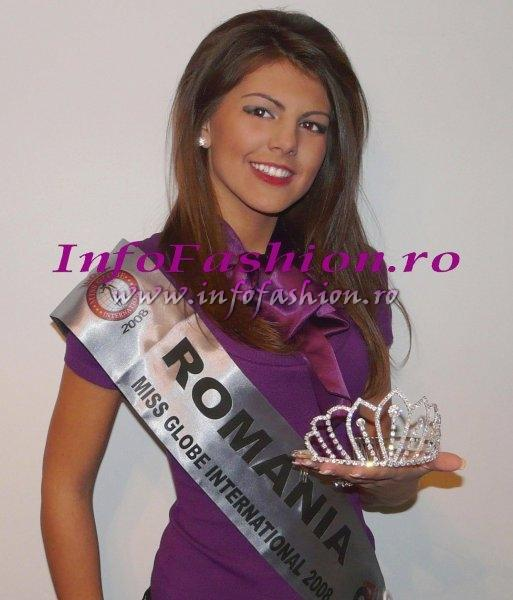 Laura_Barzoiu 2008 Romania 3rd ru at Miss Bikini Globe International, 35 ed. in Tirana, Albania