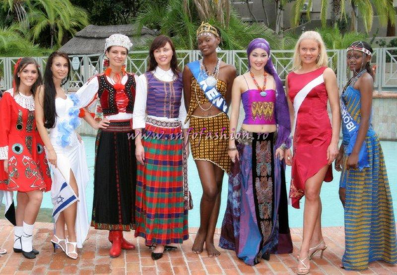 Zimbabwe_2005 National Costume & Group Photos at Miss Tourism World