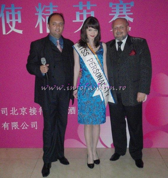 Eva_Neagoe Romania, Miss Personality la International Beauty & Model Festival in China 2009 prin Infofashion Platinum Ag