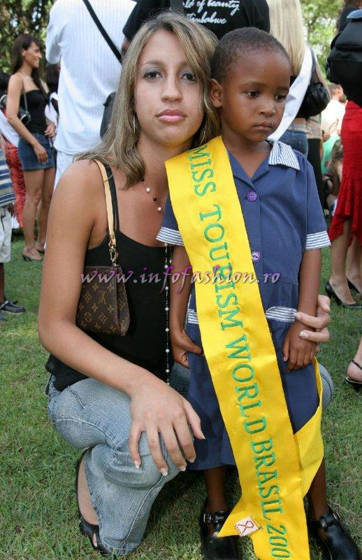 2005- Miss Tourism World Zimbabwe (Photo: Frank Thompson)