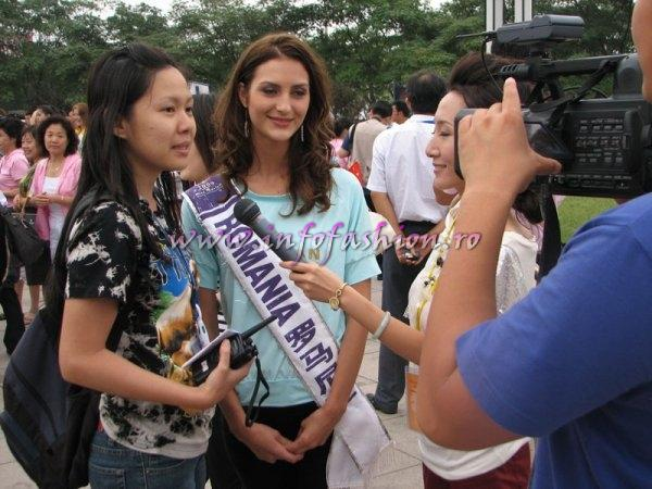 ANAMARIA ISTRATE a castigat titlul Miss Tourism of Europe 2nd runner up la Miss Tourism Queen in China pe 25.08.2009. Daca vreti sa promovati Romania in lume, castingul pentru 2010 a inceput pe infofashion.ro!