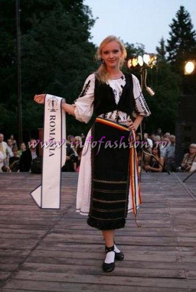 Romania Anca Vasiu at Miss Supranational 2009 in Poland