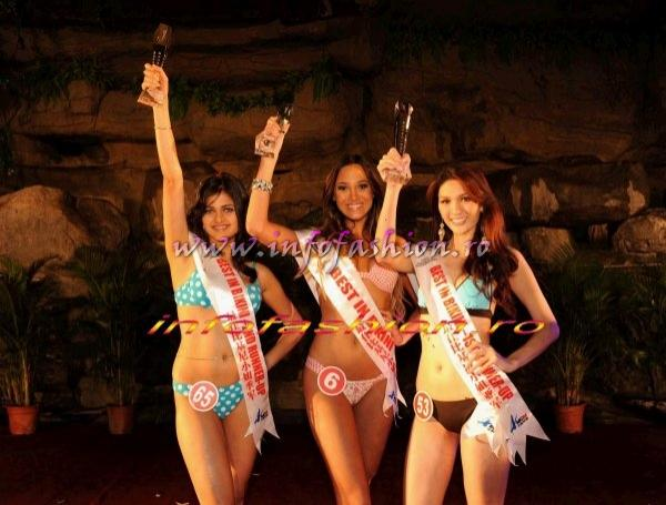 Miss Bikini Award Winner: Miss Brazil, 1st Runner-up: Miss Thailand, 2nd Runner-up: Miss India