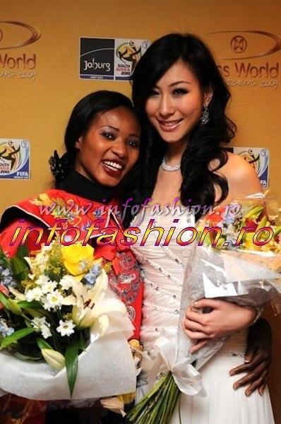 20MW ACTUAL NEWS Miss World Talent: Winner Canada and Sierra Leone, 1st Korea, 2nd Norway 2009