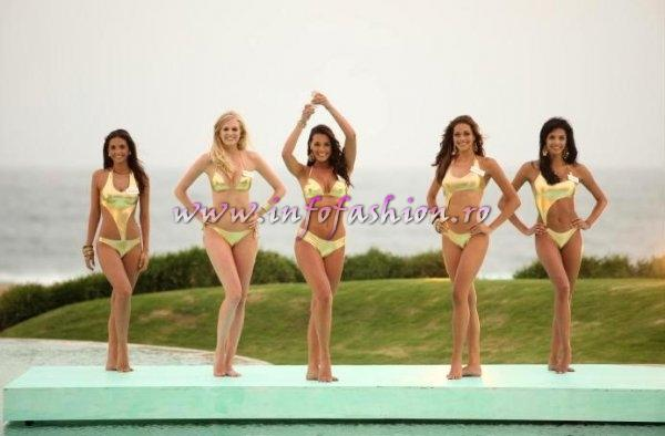 2009MW ACTUAL NEWS Miss World Beach Beauty Winner Miss Gibraltar, 2nd Panama, 3rd Scotland, 4th France, 5th Bolivia