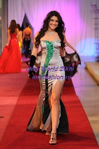 Loredana_Salanta 2009 Romania la Finala Miss World in South Africa 9 Nov-12 Dec /Infofashion Platinum Ag